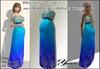 Maternity dress  mesh Blue from <<Yanka>> with Lolas Tango