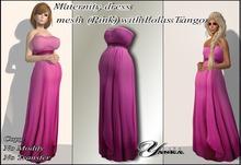 Maternity dress  mesh Pink  from <<Yanka>> with Lolas Tango
