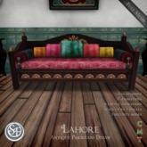 ".:SF:. ""Lahore"" Antique Pakistani Divan"