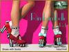 Bliensen + MaiTai - Rimbambelle - Shoes with socks - Red