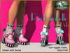 Bliensen + MaiTai - Rimbambelle - Shoes with socks - Pink