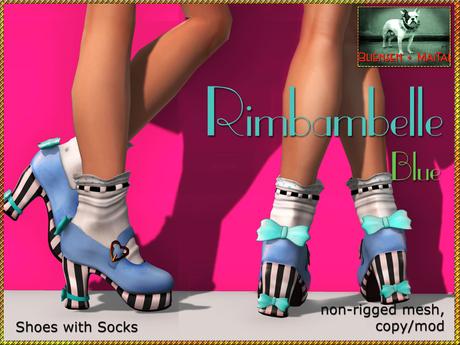 Bliensen + MaiTai - Rimbambelle - Shoes with socks - Blue