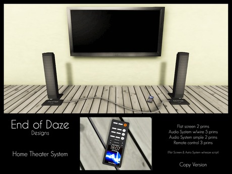 EoD Home Theater System