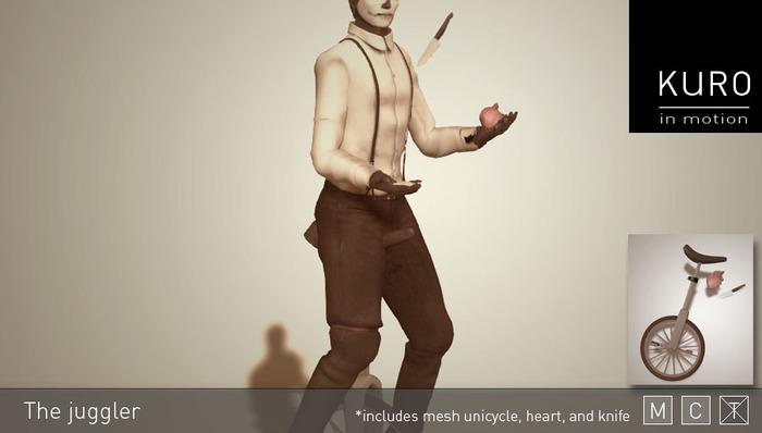 Kuro in Motion - The juggler