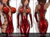 KARU KARU - Latex Suit Ilona (RED)