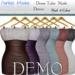 [PM] Dress Tube  Mesh_Demo