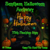 Bentham Halloween Archway (boxed)