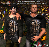 "Pure Passion Halloween t shirt ""To you death"" Scary T-shirt -MESH in 5 sizes"