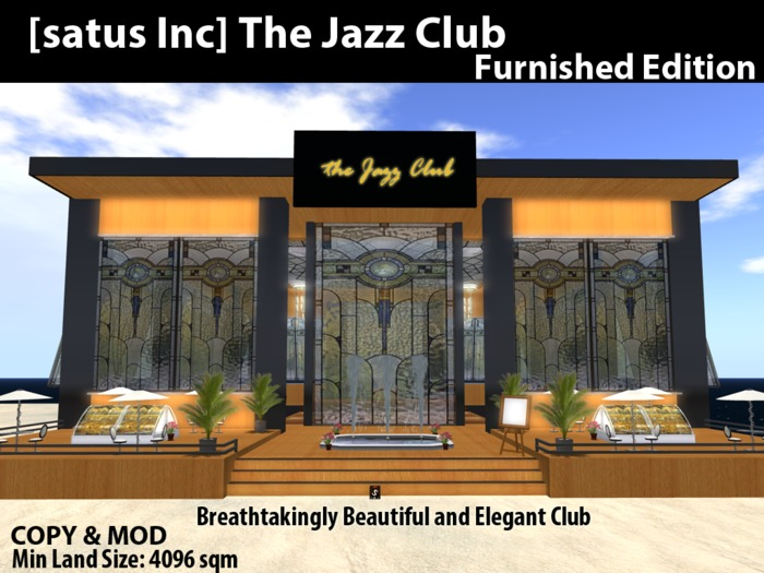 [satus Inc] The Jazz Club [Furnished Edition]