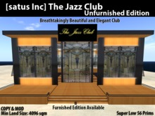 [satus Inc] The Jazz Club [Unfurnished Edition]