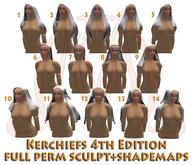 Kerchiefs 4th edition FULL PERM SCULPT+SHADEMAPS