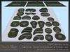 Skye land forms building set 8
