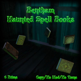 Bentham Haunted Spell Books (boxed)