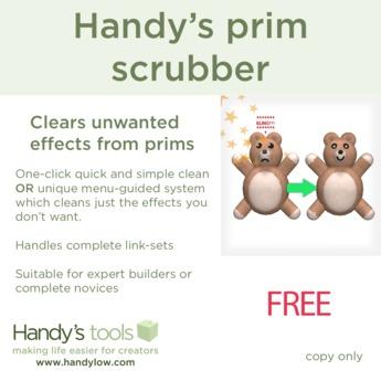 Handy's prim scrubber