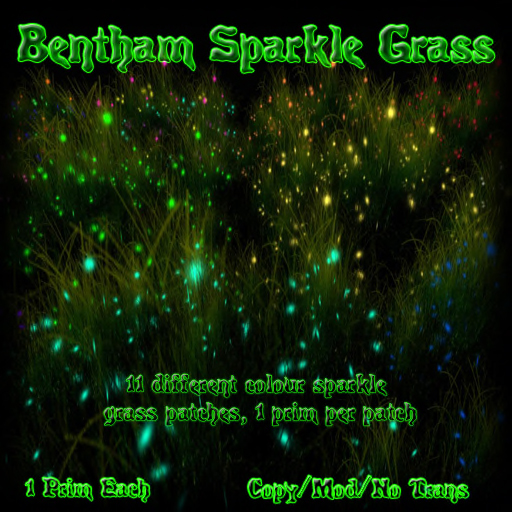 Bentham Sparkle Grass (Boxed)