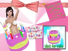 *Boof. Birthday Cake Costume and Supplies