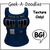 Geek-A-Doodles BG Tank Textures - Police Box