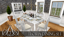 SALE!!! ~BAZAR~ Floria Dining room