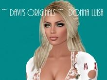 "Female Shape ~ DAVI ~ "" Donna Luisa "" ( C )  Limited Edition !"
