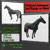 Animated Zebra