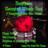 Bentham Haunted Music Box Red (Boxed)