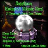 Bentham Haunted Music Box White (Boxed)