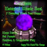 Bentham Haunted Music Box Purple (Boxed)
