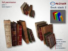 *M n B* Book stack 2 (meshbox)