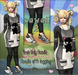 NS::  Kawaii 2 Hoddie and leggins (mesh)