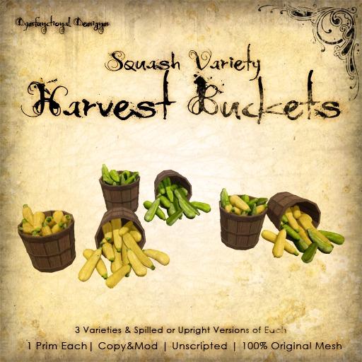 [DDD] Harvest Buckets - Squash