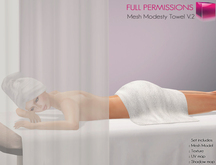 Full Perm Mesh Modesty Towel V.2
