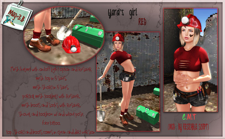 Yard's girl RED by Mag<3.B