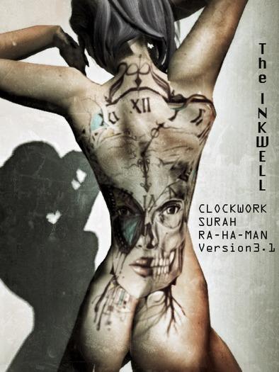 ~The INKWELL : Clockwork Rahman Tattoo - Female Version 3.1