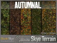 Skye Terrain Textures - Autumnal 80 x 2 Full Perms Fall Terrain Textures