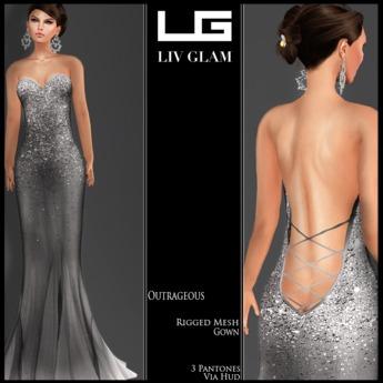 [LG] Boutique-[Summer 13] Outrageous Gown Hud 1