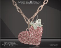 Mercy is a Butterfly Necklace Diam by Chop Zuey Couture Jewellery