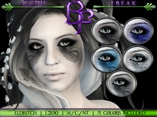 Beautiful Freak: Eldritch eye makeup -