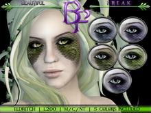 Beautiful Freak: Eldritch eye makeup - ldg1