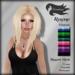 Tameless Hair Rayne (MESH) - Fantasy