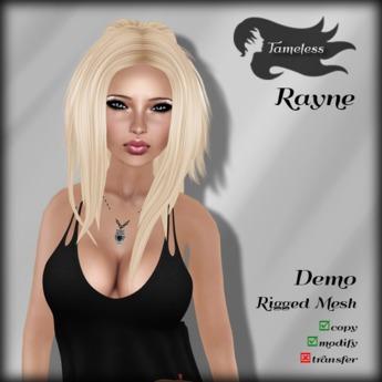 Tameless Hair Rayne (MESH) - DEMO