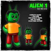 [LR]Alien 1 - Micro Mesh Avatar - FREE!