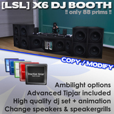 [LSL] X6 Dj Booth V2