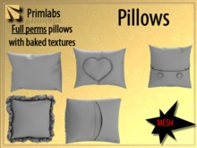 Mesh Pillows [full perm]