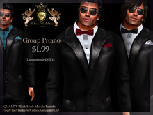 !AEC! Mesh Tuxedo with Color HUD - Limited Group PROMO!
