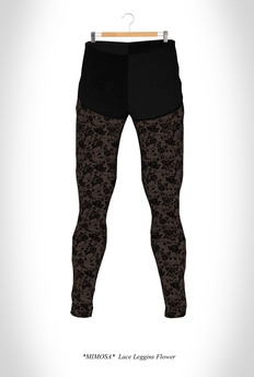 PROMO *MIMOSA* Lace Leggins Flower