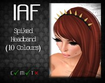 IAF Spiked Headbands (10 Colours)