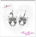-Miss.Muffin- OWL EARRINGS [Silver]