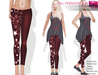 FULL PERM CLASSIC RIGGED MESH Women's Casual Sexy Leggings Pants V.2 - 4 TEXTURES