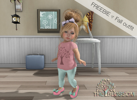 .The Blossom. Fall outfit FREEBIE GIFT Toddleedoo avatars only!