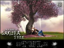 Cherry Blossom Sakura Tree - 2 Prims *~-SALE-~* Animations - Falling Petals - Bird Songs - Chimes - Branches Sway - Menu